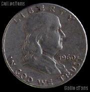 1960 Franklin Half Dollar Silver Coin 1960 Half Dollar Coin