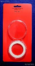 """Air-Tite Coin Capsule Direct Fit """"Y47 mm"""" White Ring Coin Holder for 47mm Coins, Rounds, & Tokens"""