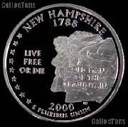 2000-S New Hampshire State Quarter PROOF Coin 2000 Quarter