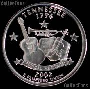2002-S Tennessee State Quarter SILVER PROOF 2002 Silver Quarter