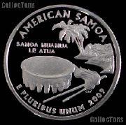 2009-S  American Samoa Quarter PROOF Coin 2009 Quarter