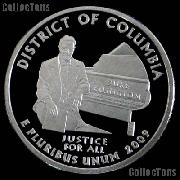 2009-S District of Columbia Quarter SILVER PROOF 2009 Silver Quarter