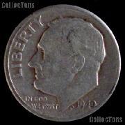 1949-D Roosevelt Dime Silver Coin 1949 Silver Dime