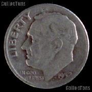 1952-S Roosevelt Dime Silver Coin 1952 Silver Dime