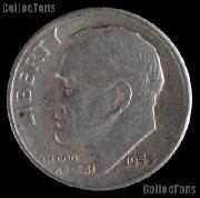 1953-S Roosevelt Dime Silver Coin 1953 Silver Dime