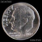1963 Roosevelt Dime Silver Coin 1963 Silver Dime