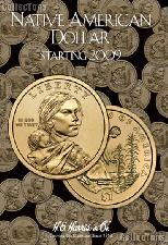 Native American Dollar Coin Folder by Harris 2009-Date Sacagawea