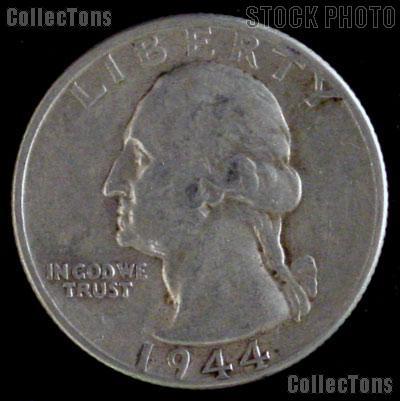 1944 D Washington Quarter Silver Coin 1944 Silver Quarter