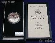 1991-P Korean War Memorial Commemorative Proof Silver Dollar