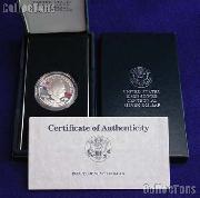 1990-P Eisenhower Centennial Commemorative Proof Silver Dollar