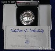 1991-S United Service Organizations (USO) Commemorative Proof Silver Dollar