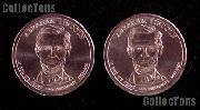 2010 P&D Abraham Lincoln Presidential Dollar GEM BU 2010 Lincoln Dollars