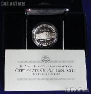 1992-W White House 200th Anniversary Commemorative Proof Silver Dollar