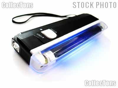 """Mini Black Light by SE Portable UV Blacklight 6"""" w/LED"""