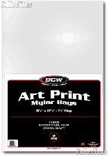 Art Bags by BCW Pack of 10 11x17 Mylar Bags for Art Prints