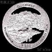 2011-S Washington Olympic National Park Quarter GEM PROOF America the Beautiful