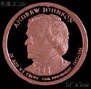 2011-S Andrew Johnson Presidential Dollar GEM PROOF Coin