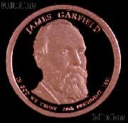 2011-S James A Garfield Presidential Dollar GEM PROOF Coin
