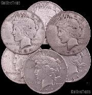 1934-S Peace Silver Dollar - Key Date