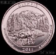 2011-D Washington Olympic National Park Quarter GEM BU America the Beautiful