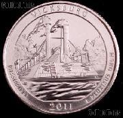 2011-D Mississippi Vicksburg National Park Quarter GEM BU America the Beautiful