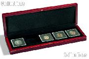 Coin Box Wooden for Five 2x2 Coin Holders QUADRUM by Lighthouse VOLTERRA QUADRUM 5