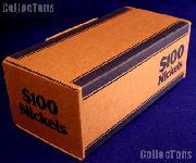 Corrugated Cardboard Coin Transport Box for Nickel Rolls