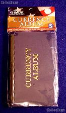 """Small Pocket Currency Album by H.E. Harris, 7.25"""" x 4.25"""""""