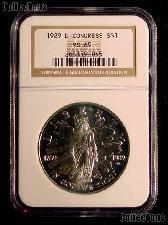 1989-D Congress Bicentennial Congressional Commemorative Silver Dollar in NGC MS 69