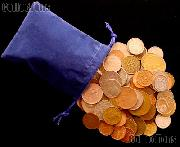 Grab Bag of World Coins Over 50 DIFFERENT Coins & Over 1/2 Pound, Foreign Coins Lot