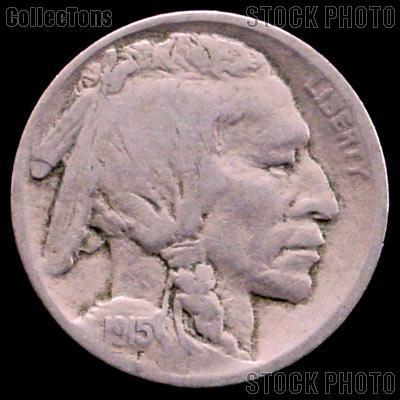 1915-D Buffalo Nickel G-4 or Better Indian Head Nickel