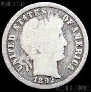 1892 Barber Dime G-4 or Better Liberty Head Dime