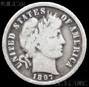 1897-O Barber Dime G-4 or Better Liberty Head Dime