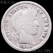 1898-O Barber Dime G-4 or Better Liberty Head Dime