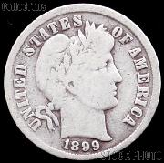 1899 Barber Dime G-4 or Better Liberty Head Dime