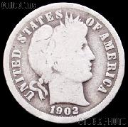 1902 Barber Dime G-4 or Better Liberty Head Dime