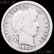 1903 Barber Dime G-4 or Better Liberty Head Dime