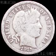 1915 Barber Dime G-4 or Better Liberty Head Dime