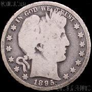 1895 Barber Half Dollar G-4 or Better Liberty Head Half Dollar