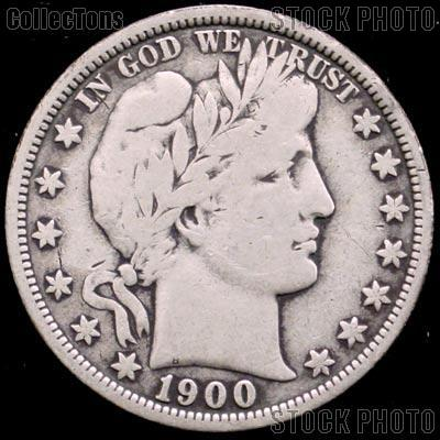 1900 S Barber Half Dollar G 4 Or Better Liberty Head Half