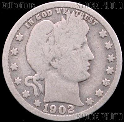 1902 Barber Half Dollar G 4 Or Better Liberty Head Half