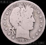 1903 Barber Half Dollar G-4 or Better Liberty Head Half Dollar