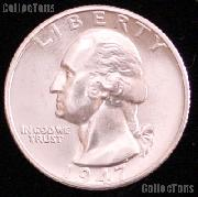 1947-D Washington Silver Quarter Gem BU (Brilliant Uncirculated)