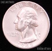 1948 Washington Silver Quarter Gem BU (Brilliant Uncirculated)