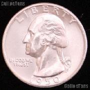 1950-S Washington Silver Quarter Gem BU (Brilliant Uncirculated)