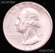 1951 Washington Silver Quarter Gem BU (Brilliant Uncirculated)