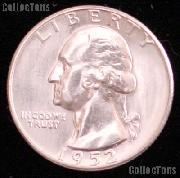 1952-S Washington Silver Quarter Gem BU (Brilliant Uncirculated)