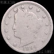 1894 Liberty Head V Nickel G-4 or Better