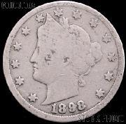 1898 Liberty Head V Nickel G-4 or Better