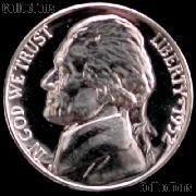 1952 Jefferson Nickel PROOF Coin 1952 Proof Nickel Coin